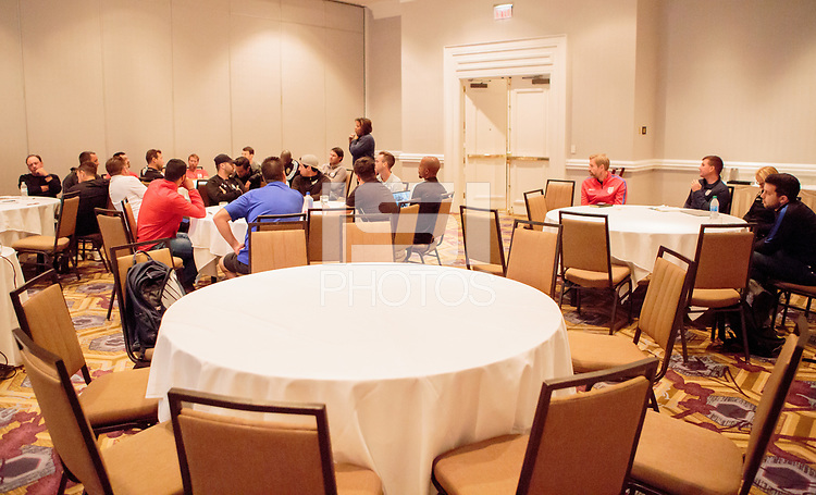 Dallas, TX - October 20, 2019: U.S. Soccer Development Academy Club Development Meeting held at the Omni Dallas at Park West.