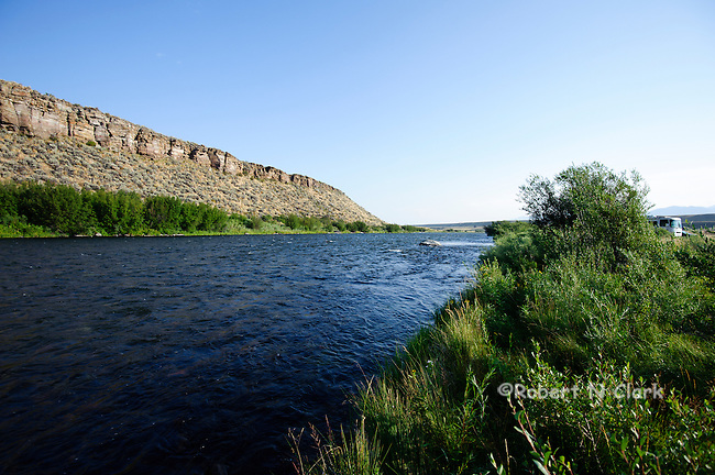 Madison River at the Palisades area