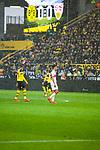 09.03.2019, Signal Iduna Park, Dortmund, GER, 1.FBL, Borussia Dortmund vs VfB Stuttgart, DFL REGULATIONS PROHIBIT ANY USE OF PHOTOGRAPHS AS IMAGE SEQUENCES AND/OR QUASI-VIDEO<br /> <br /> im Bild   picture shows:<br /> Ein Regenschauer ergie&szlig;t sich &uuml;ber den Signal Iduna Park, <br /> <br /> Foto &copy; nordphoto / Rauch