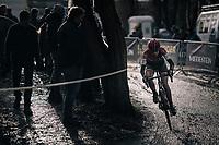 Pauline Delhaye (FRA)<br /> <br /> Women's Race<br /> CX Vlaamse Druivencross Overijse 2017