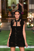 Model Giovanna Lee poses. <br /> Aurelia Gil Show During the Gran Canaria Bridal Fashion Week at Nestor Museum in Gran Canaria, Canary Island on October 8, 2017.