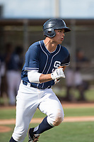 San Diego Padres right fielder Tirso Ornelas (16) during a Minor League Spring Training game against the Seattle Mariners at Peoria Sports Complex on March 24, 2018 in Peoria, Arizona. (Zachary Lucy/Four Seam Images)