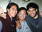 Karina Sagaga, New zealand, Johnathon Ng Yih Chyu, Singapore and Muhammad Shariq, Pakistan at the Millenium Gold Encounter '99 Programme in An Grianan..Picture Paul Mohan Newsfile.See Caroline Kavanagh for copy.