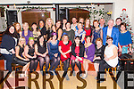 The staff from Araglen House, Boherbue Cork celebrated their Christmas party in the Killarney Heights Hotel on Friday night (all Kerry staff)