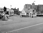 Pittsburgh PA:  View Marbetts Restaurant in the East Liberty section of Pittsburgh - 1952