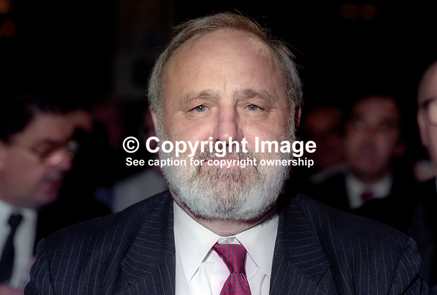 Frank Dobson, MP, Holborn &amp; St Pancras, Labour Party, at annual conference. 199409010.<br />