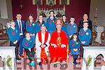 The Children from Lougfouder NS Knocknagoshel  at their confirmation on Tuesday