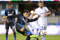 San Jose, CA - Saturday, March 04, 2017: Nick Lima during a Major League Soccer (MLS) match between the San Jose Earthquakes and the Montreal Impact at Avaya Stadium.