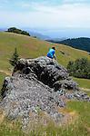 Woman in Mt. Tamalpais State Park