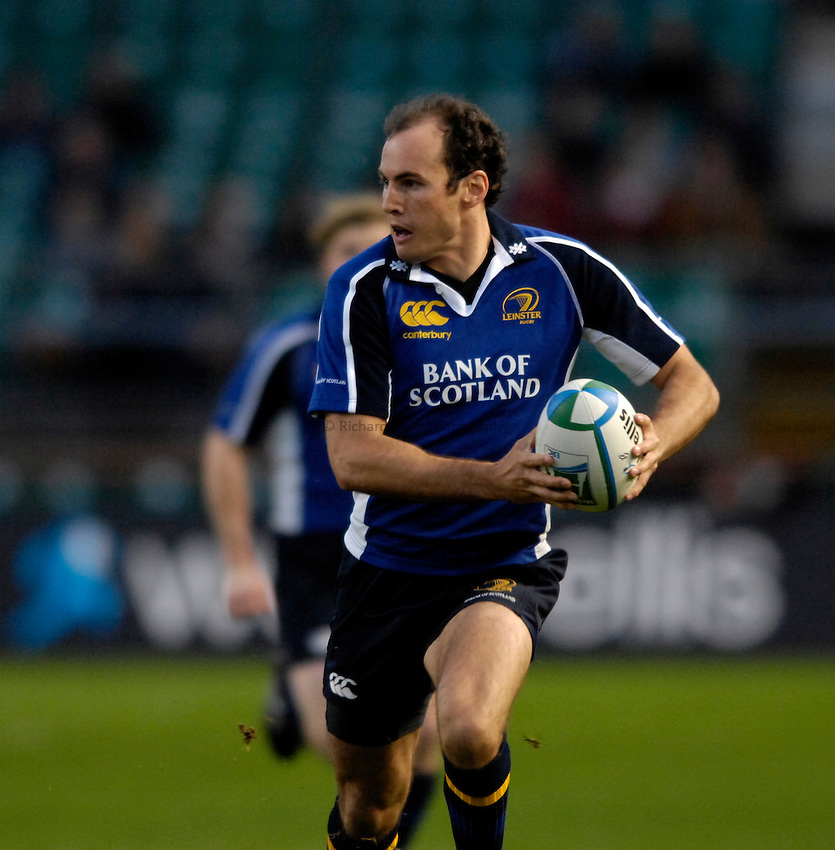Photo: Jed Wee..Leinster Rugby v Gloucester Rugby. Heineken Cup. 21/10/2006...Leinster's Girvan Dempsey.