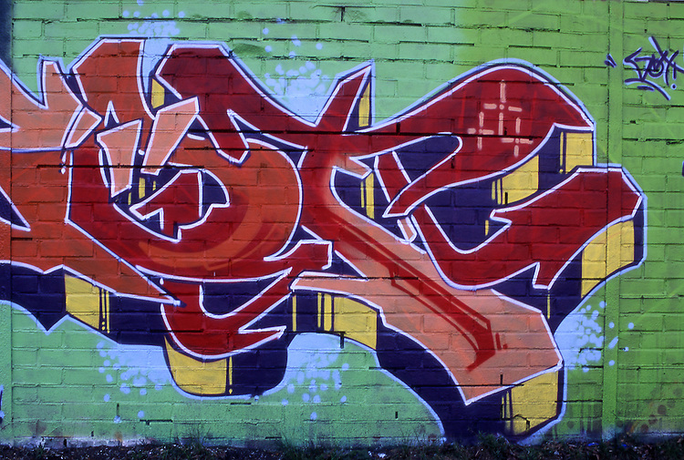 Europe, DEU, Germany, Northrhine Westphalia, Ruhr district, Ruhr area, Graffiti, Wall painting....[ For each utilisation of my images my General Terms and Conditions are mandatory. Usage only against use message and proof. Download of my General Terms and Conditions under http://www.image-box.com or ask for sending. A clearance before usage is necessary...Material is subject to royalties. Each utilisation of my images is subject to a fee in accordance to the present valid MFM-List...Contact | archive@image-box.com | www.image-box.com ]