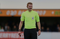 Referee James Oldham during AFC Wimbledon vs Rochdale, Sky Bet EFL League 1 Football at the Cherry Red Records Stadium on 5th October 2019