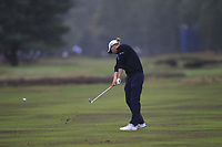 Marcel Siem (GER) on the 2nd fairway during Round 4 of the Sky Sports British Masters at Walton Heath Golf Club in Tadworth, Surrey, England on Sunday 14th Oct 2018.<br /> Picture:  Thos Caffrey | Golffile