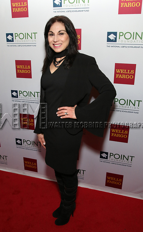 Valerie Smaldone attends the Point Foundation hosts Annual Point Honors New York Gala Celebrating The Accomplishments Of LGBTQ Students at The Plaza Hotel on April 9, 2018 in New York City.
