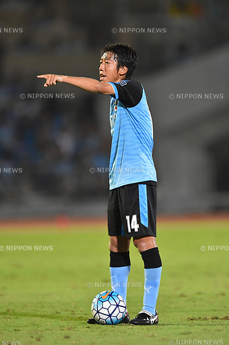 Kengo Nakamura (Frontale),<br /> AUGUST 23, 2017 - Football / Soccer :<br /> AFC Champions League Quarter-finals 1st leg match between Kawasaki Frontale 3-1 Urawa Red Diamonds at Todoroki Stadium in Kanagawa, Japan. (Photo by AFLO)