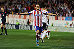 Atletico de Madrid´s Koke celebrates a goal during 2014-15 La Liga match between Atletico de Madrid and Valencia CF at Vicente Calderon stadium in Madrid, Spain. March 08, 2015. (ALTERPHOTOS/Luis Fernandez)
