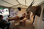 Game hunting  stand.<br />