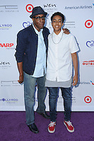 16 July 2016 - Pacific Palisades, California. Arsenio Hall, Arsenio Hall Jr.. Arrivals for HollyRod Foundation's 18th Annual DesignCare Gala held at Private Residence in Pacific Palisades. Photo Credit: Birdie Thompson/AdMedia