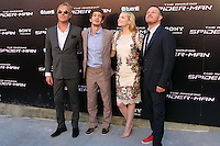 Rhys Ifans, Emma Stone, Andrew Garfield, Marc Webb - The Amazing Spider-Man - photocall in Madrid NORTEPHOTO.COM<br />