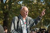 Pro-Israel speaker John Fitter, Speakers' Corner, Hyde Park, London.