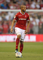 Nottingham Forest's Adl&egrave;ne Gu&eacute;dioura<br /> <br /> Photographer Mick Walker/CameraSport<br /> <br /> The EFL Sky Bet Championship - Nottingham Forest v West Bromwich Albion - Tuesday August 7th 2018 - The City Ground - Nottingham<br /> <br /> World Copyright &copy; 2018 CameraSport. All rights reserved. 43 Linden Ave. Countesthorpe. Leicester. England. LE8 5PG - Tel: +44 (0) 116 277 4147 - admin@camerasport.com - www.camerasport.com