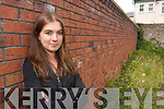LONG WAIT: Tralee student Nessa Daly who is waiting anxiously for her Leaving Certificate results on Wednesday next..