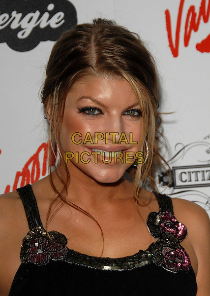 FERGIE - STACEY FERGUSON.Fergie's Birthday Party at Citizen Smith Nightclub in Hollywood, California, USA. .March 28th, 2006.Ref: DVS.Black Eyed Peas headshot portrait hoop earrings .www.capitalpictures.com.sales@capitalpictures.com.Supplied By Capital PIctures