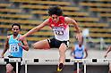 Takatoshi Abe (JPN),..JULY 8, 2011 - Athletics :The 19th Asian Athletics Championships Hyogo/Kobe, Men's 400mH Round 1 at Kobe Sports Park Stadium, Hyogo ,Japan. (Photo by Jun Tsukida/AFLO SPORT) [0003]