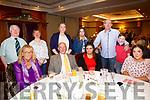 Enjoying the North Kerry Wheelchair Association Christmas party at Meadowlands Hotel on Sunday were front l-r Mary Bradbury, Matthew Murphy, Saoirse Murphy, Leah Hickey Back l-r Pat Mahony, Grace Mahony, Mairéad Hickey, Katelyn Murphy, John Hickey and Ben Hickey