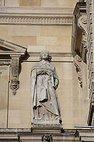 Jacques-Benigne Bossuet, French bishop and pulpit orator, Dijon, 27 September 1627 - Paris, 12 April 1704, Pavillon Richelieu & Colbert (1857), Louvre Museum, Paris, France Picture by Manuel Cohen