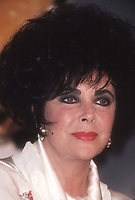 Elizabeth Taylor 1992<br /> Photo By John BarrettPHOTOlink.net