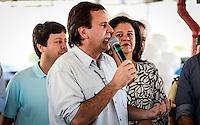 RIO DE JANEIRO, RJ, 09.07.2016 - BRT-TRANSOLÍMPICO - Prefeito Eduardo Paes durante a inauguração do novo corredor Transolímpico, a terceira via expressa municipal com cobrança de pedágio e a primeira integrada a um BRT, no Terminal Recreio, zona oeste da cidade, no início da manhã desse sábado, 09. (Foto: Jayson Braga / Brazil Photo Press)