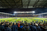 Picture by Allan McKenzie/SWpix.com - 23/03/2018 - Rugby League - Betfred Super League - Leeds Rhinos v Castleford Tigers - Elland Road, Leeds, England - A general view of Elland road as Leeds Rhinos prepare to take on the Castleford Tigers.