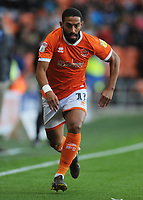Blackpool's Liam Feeney<br /> <br /> Photographer Kevin Barnes/CameraSport<br /> <br /> The Carabao Cup First Round - Blackpool v Macclesfield Town - Tuesday 13th August 2019 - Bloomfield Road - Blackpool<br />  <br /> World Copyright © 2019 CameraSport. All rights reserved. 43 Linden Ave. Countesthorpe. Leicester. England. LE8 5PG - Tel: +44 (0) 116 277 4147 - admin@camerasport.com - www.camerasport.com