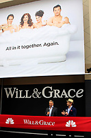 """LOS ANGELES - AUG 2:  David Kohan, Max Mutchnick at the """"Will & Grace"""" Start of Production Kick Off Event at the Universal Studios on August 2, 2017 in Universal City, CA"""