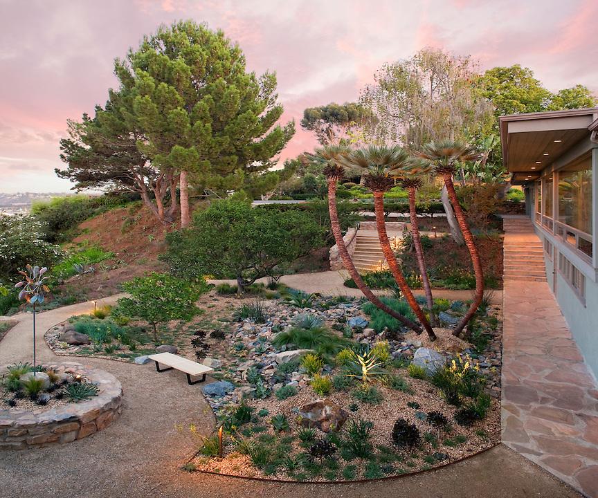 Christopher Ian Gustard, ASLA - Price residence garden and overlook - San Diego California