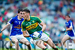 David Clifford Kerry in action against Philip Nulty Cavan in the All Ireland Minor Semi Final in Croke Park on Sunday.