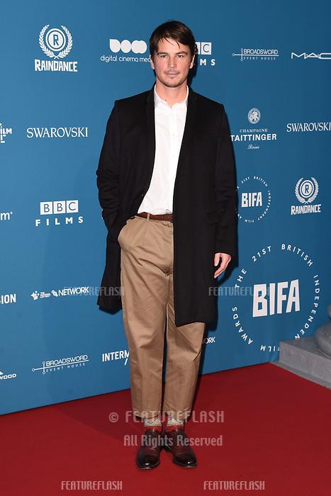 LONDON, UK. December 02, 2018: Josh Hartnett at the British Independent Film Awards 2018 at Old Billingsgate, London.<br /> Picture: Steve Vas/Featureflash