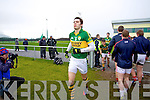 David Moran Kerry in action against   Cork IT in the semi final of the McGrath Cup at John Mitchells Grounds on Sunday.