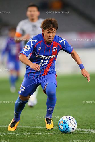 Hiroki Kawano (FC Tokyo), <br /> FEBRUARY 9, 2016 - Football / Soccer : <br /> AFC Champions League 2016 Play-off <br /> between FC Tokyo 9-0 Chonburi FC <br /> at Tokyo Stadium, Tokyo, Japan. <br /> (Photo by YUTAKA/AFLO SPORT)