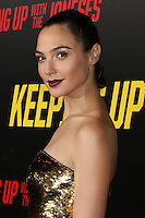 "LOS ANGELES, CA - OCTOBER 8: Gal Gadot at the ""Keeping Up with the Joneses"" Red Carpet Event at Twentieth Century Fox Studios in Los Angeles, California on October 8, 2016. Credit: David Edwards/MediaPunch"