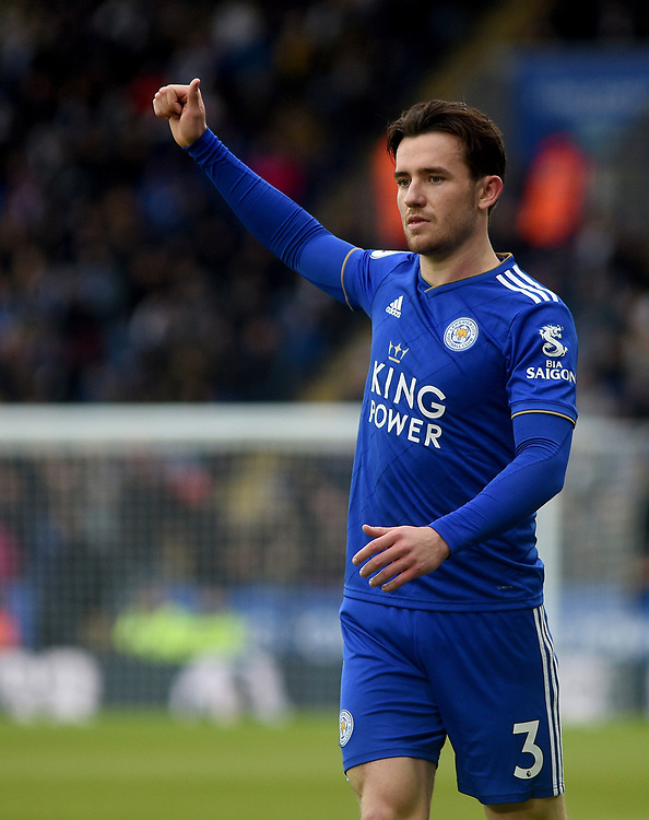 Leicester City's Ben Chilwell<br /> <br /> Photographer Hannah Fountain/CameraSport<br /> <br /> The Premier League - Leicester City v Manchester United - Sunday 3rd February 2019 - King Power Stadium - Leicester<br /> <br /> World Copyright © 2019 CameraSport. All rights reserved. 43 Linden Ave. Countesthorpe. Leicester. England. LE8 5PG - Tel: +44 (0) 116 277 4147 - admin@camerasport.com - www.camerasport.com