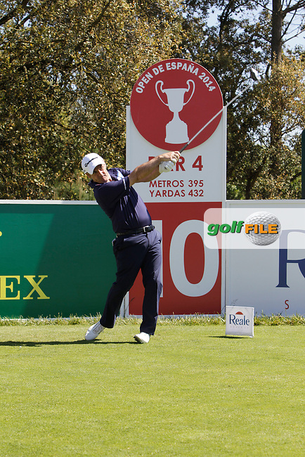 Paul McGinley (IRL) in the Pro-Am during The Open De Espana at The PGA Catalunya Resort on Wednesday 14th May 2014.<br /> Picture:  Thos Caffrey / www.golffile.ie