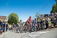 2016 La Fleche Wallonne<br /> Huy, Belgium<br /> 20 April 2016<br /> Sven Erik Bystrom, Team Katusha