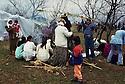 Syria 2000 <br /> Kurds celebrating Nowruz in Damascus   <br /> <br /> Syrie 2000 <br /> Familles kurdes celebrant Nowruz a Damas