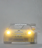The #96 Porsche of Tim McKenzie, Paul Mortimer and Bohdan Kroczek races through the rain at the 6 Heueres du Circuit Mont-Tremblant in Mont-Tremblant, Qubec, Canada, on Saturday, May 21, 2005. (Photo by Brian Cleary/www.bcpix.com)