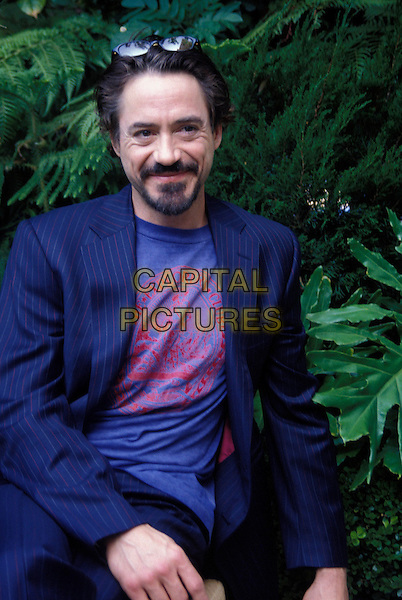 ROBERT DOWNEY JR..January 2006.Ref: AW.half length blue suit jacket sunglasses shades goatee facial hair.www.capitalpictures.com.sales@capitalpictures.com.© Capital Pictures.
