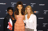NEW YORK, NY - OCTOBER 03: Rose Stuckey Kirk, Zendaya and Rory Kennedyi attends the New York screening of &quot;Withut A Net&quot; at the 55th New York Film Festival on October 3, 2017 at Walter Reade Theater New York City. <br /> CAP/MPI/PAL<br /> &copy;PAL/MPI/Capital Pictures