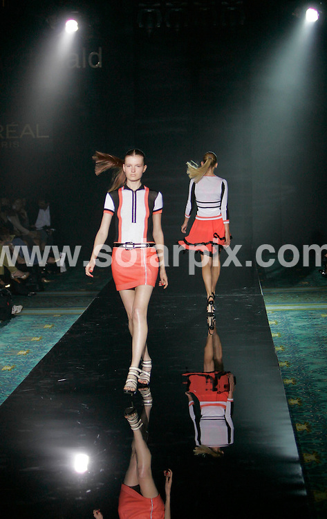 **ALL ROUND PICTURES FROM SOLARPIX.COM**.**NO UK NEWSPAPER PUBLICATION **UK MAGAZINE PUBLICATION ONLY** AND NO PUBLICATION IN FRANCE, SCANDINAVIA, AUSTRALIA AND GERMANY** .The Luella catwalk show at London Fashion Week today...JOB REF:4737-SFE       DATE:17_09_07 .**MUST CREDIT SOLARPIX.COM OR DOUBLE FEE WILL BE CHARGED* *UNDER NO CIRCUMSTANCES IS THIS IMAGE TO BE REPRODUCED FOR ANY ONLINE EDITION WITHOUT PRIOR PERMISSION*