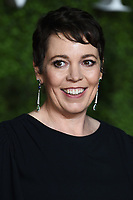 "LONDON, UK. November 13, 2019: Olivia Colman arriving for ""The Crown"" series 3 premiere at the Curzon Mayfair, London.<br /> Picture: Steve Vas/Featureflash"